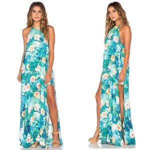 Show Me Your Mumu Bronte Tropical Maxi Dress XS